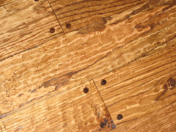 FloorPartners Handscraped Wood Floor