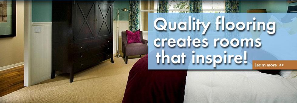 Quality flooring creates rooms that inspire