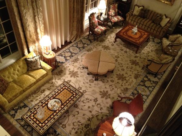 Custom Designed hand tufted rug