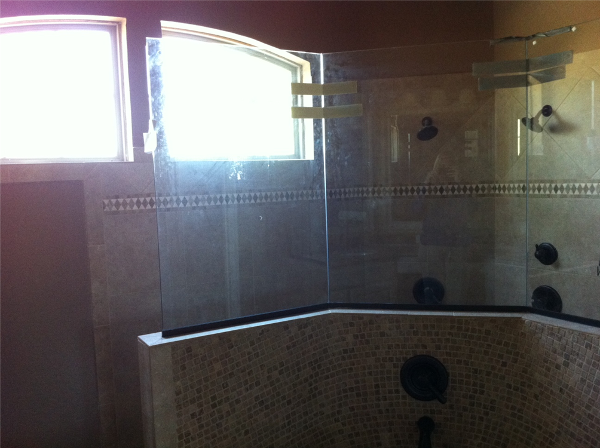 Corner Shower example.