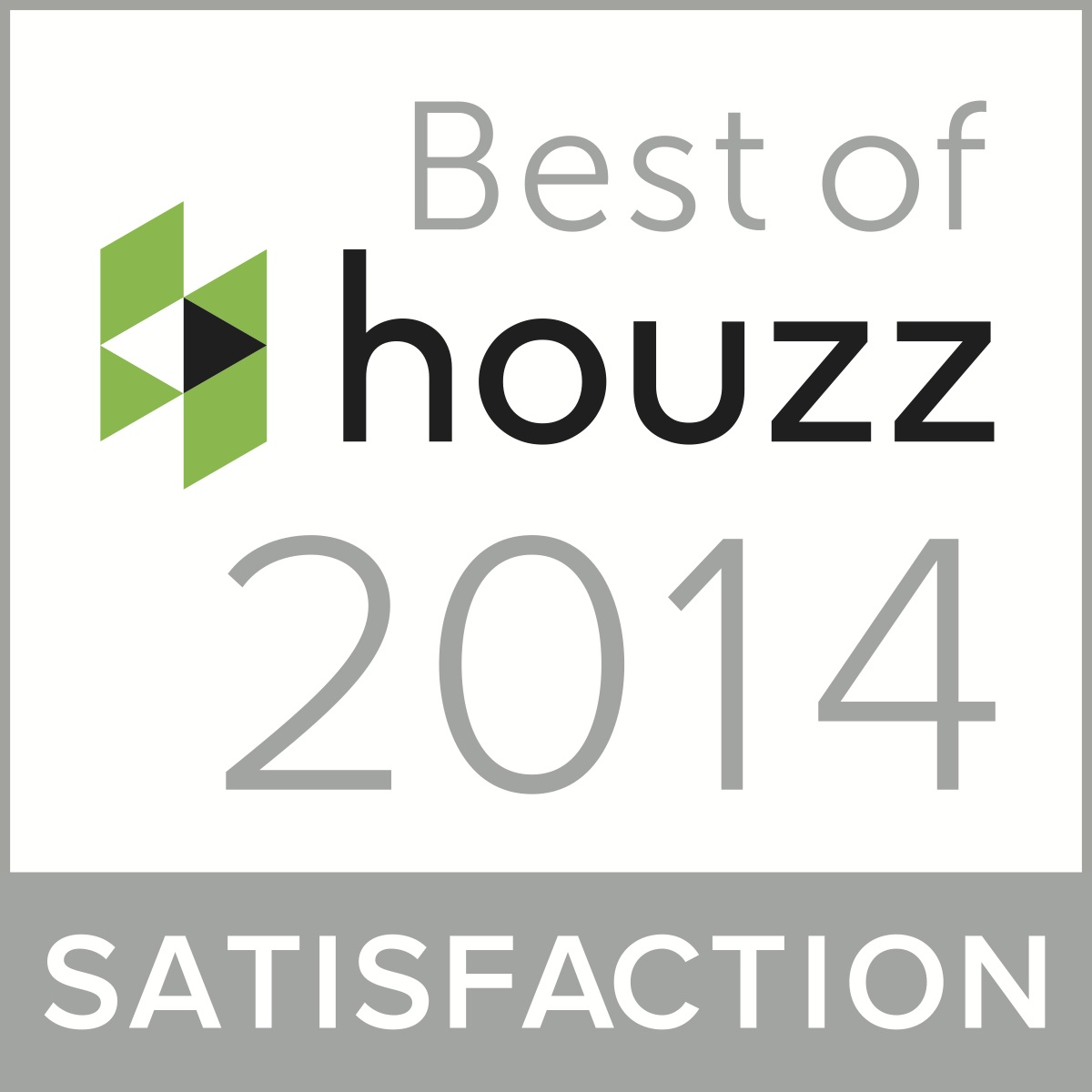 best of houzz badge 2014 award